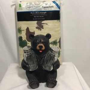 Other - Cuddling Black Bear Salt & Pepper Shakers